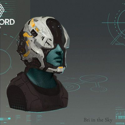 Sci Fi Cyberpunk Futuristic Android Humanoid Cyborg Soldier