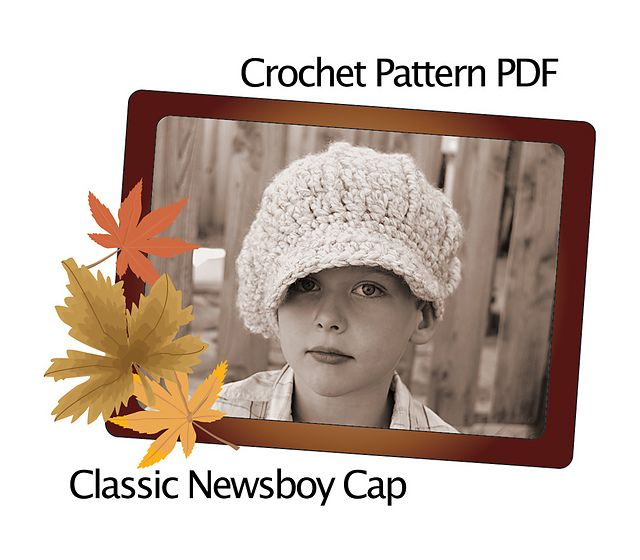 Newsboy Cap | Crochet♡Hats | Pinterest