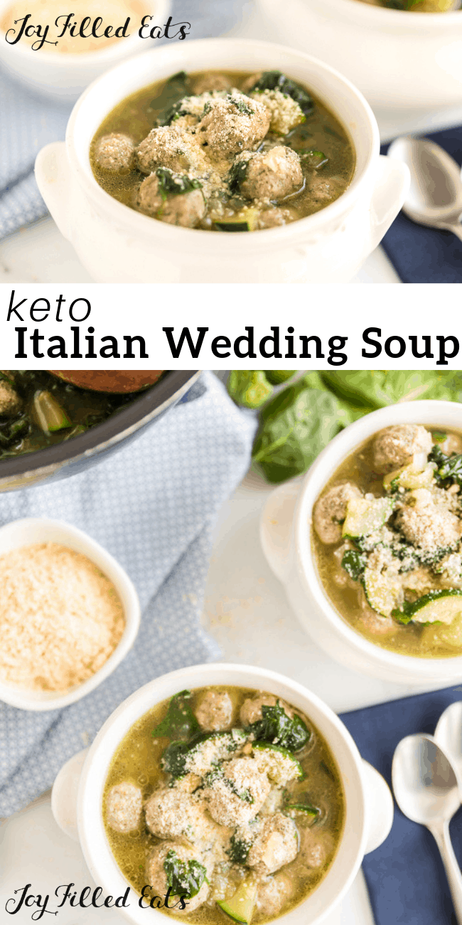 Italian Wedding Soup Recipe Low Carb, Keto, GlutenFree