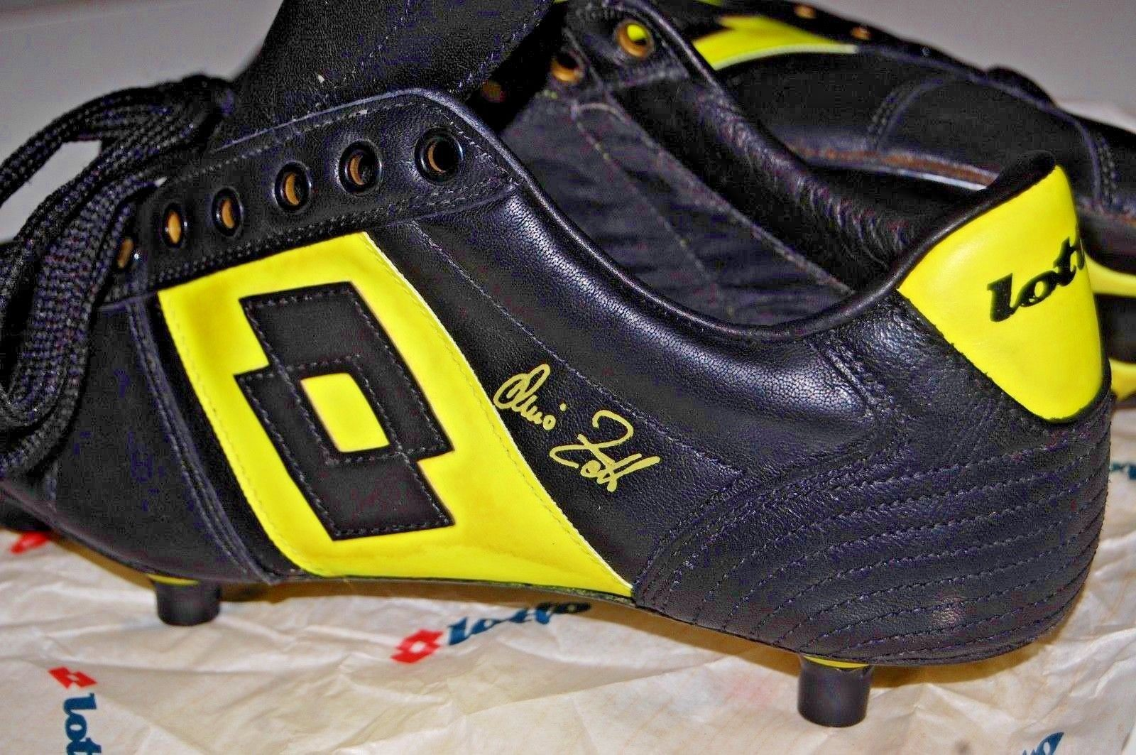 77724a04c LOTTO VINTAGE TOP STAR DINO ZOFF WORLD CUP 82 DEADSTOCK FOOTBALL BOOTS 80  CLEATS