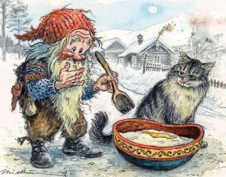 Norwegian Dwarf 63 Pieces Fairy Friends Scandinavian Art Magical Creatures