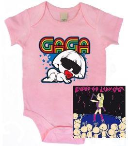 Kiditude - Lady Gaga Funny Onesie Gift Set