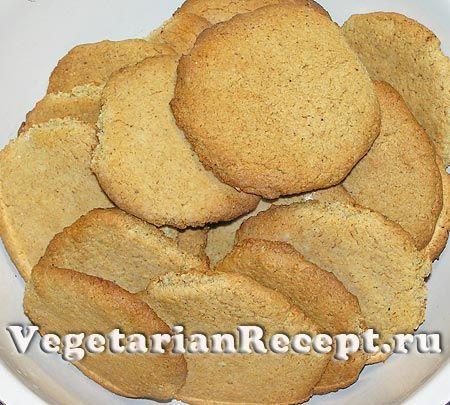 Рецепт печенья без сливочного масла с фото