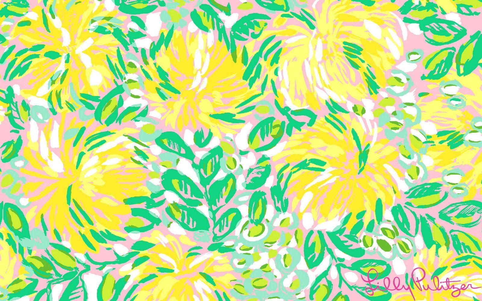 Far More Than Rubies: Lilly Pulitzer & Vera Bradley Wallpaper ...