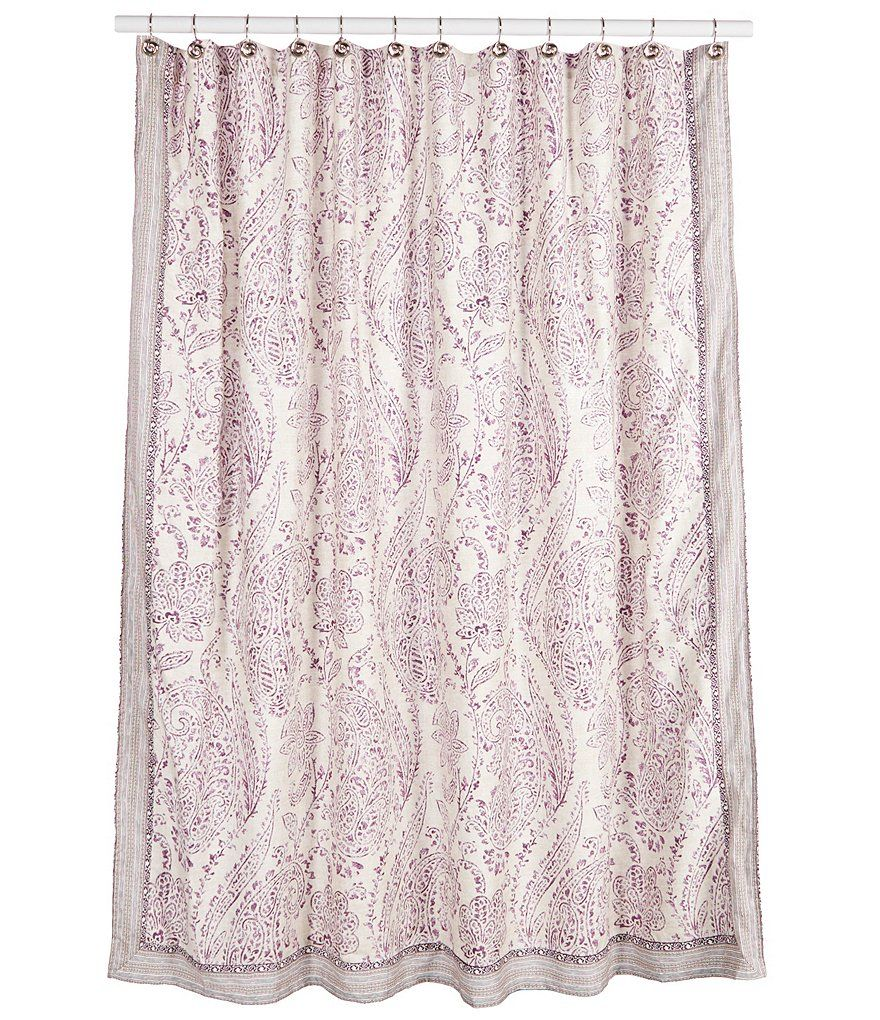 Jessica Simpson Jacky Paisley Shower Curtain Dillards Paisley