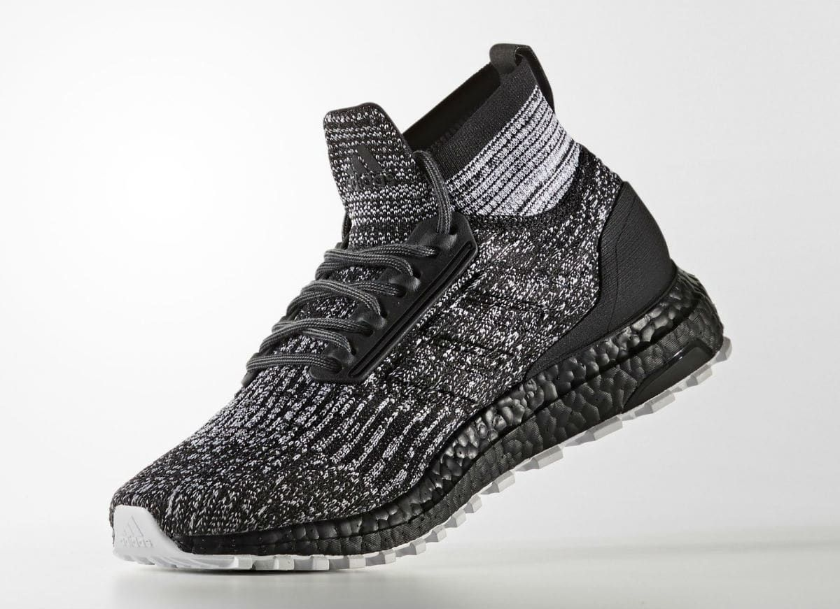 12826868842 Adidas Ultra Boost ATR Mid Oreo Black White