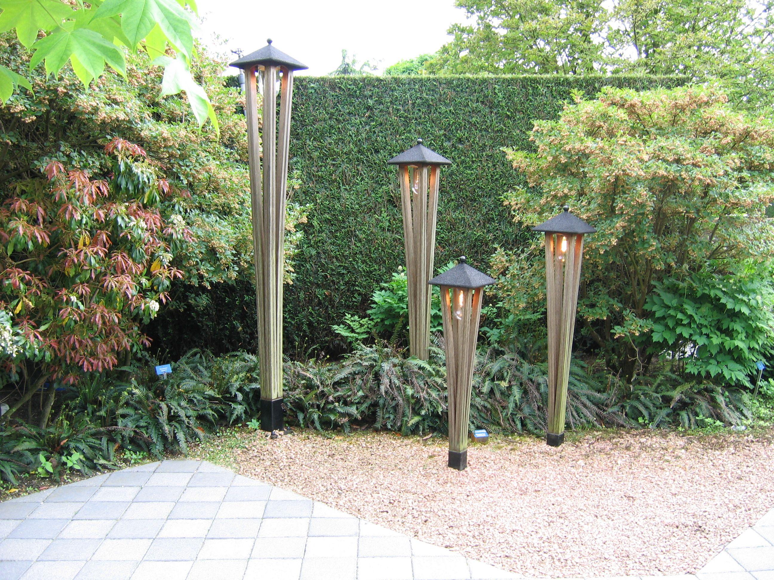 Verlichting gezien in voorbeeld tuinen van appeltern in nederland