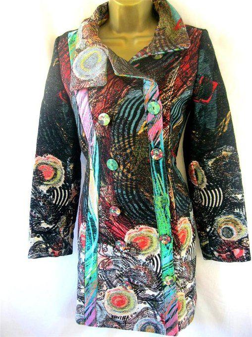 Qualität zuerst elegantes und robustes Paket abgeholt Desigual Abrig Natalia Tapestry Effect Bright Fitted Dress ...