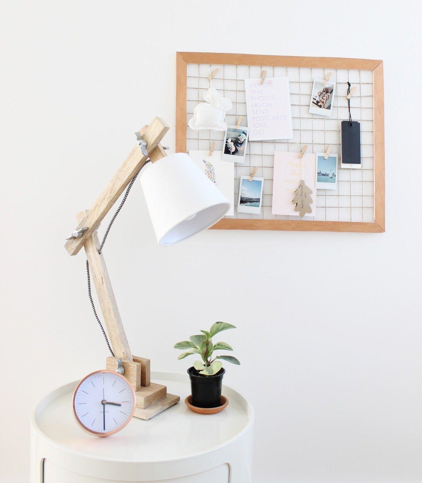 vanilla craft blog: diy mesh vision board