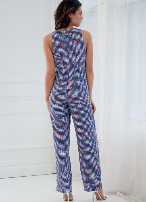 M7777 | Misses\' Dresses, Romper and Jumpsuit Sewing Pattern ...