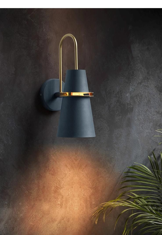 Gullfis Blue Light Fixture On Wall Pendant Light Fixtures Wall Lights Wall Lamp