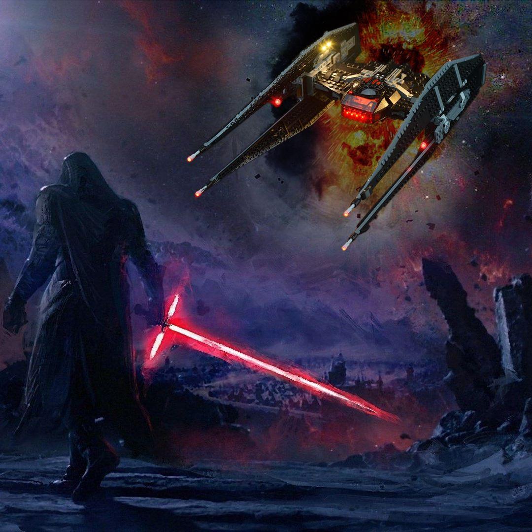 Light Kit For Kylo Ren S Tie Fighter 75179 In 2020 Star Wars Tie Fighter Skywalker