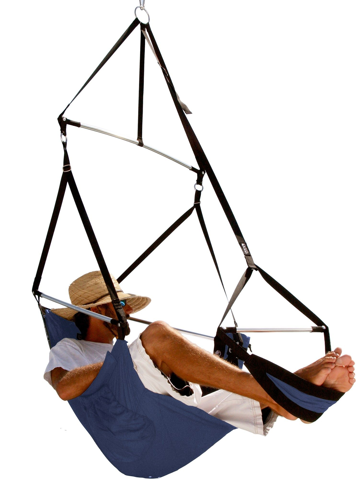 Kick Back In The Comfortable Eno Lounger Hanging Chair Reigifts