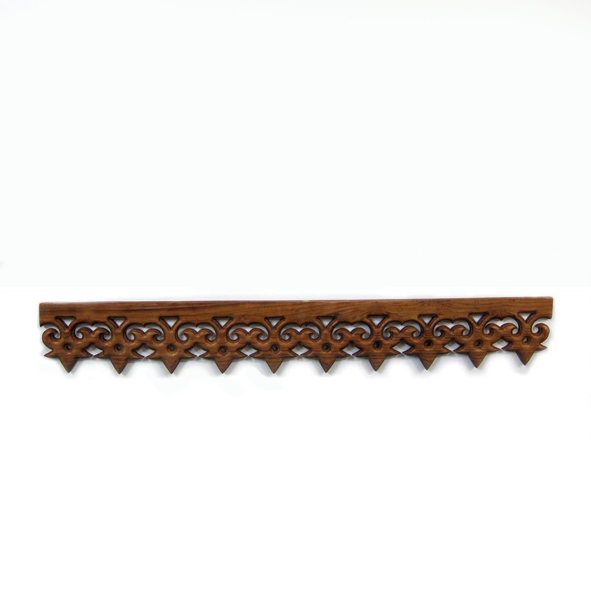 Furniture · Teak Wood Architectural Moulding Trim Pieces.