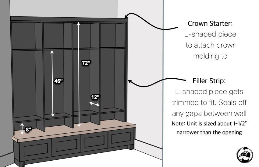 How To Build Mudroom Lockers Diy Mudroom Lockers Diy Locker Mud Room Storage