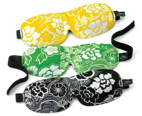 Love these Bucky 40 Blinks sleep masks. Might have to DIY it up!