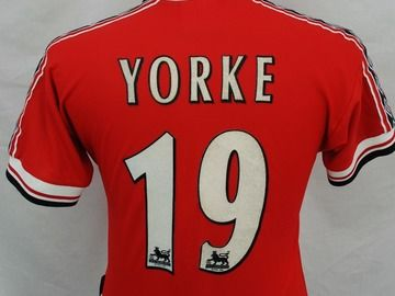 pretty nice 24322 77a95 Manchester United Dwight Yorke 1999 football shirt | trini ...