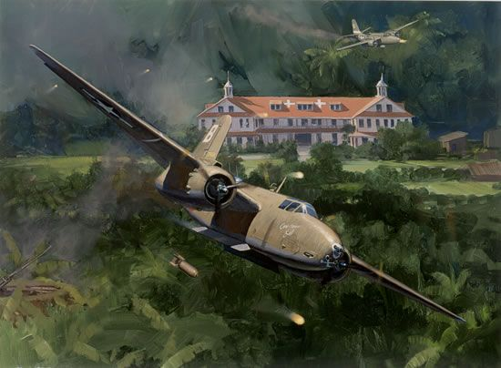Havoc At Wewak By Jack Fellows Aviation Art Aircraft Painting Aircraft Art