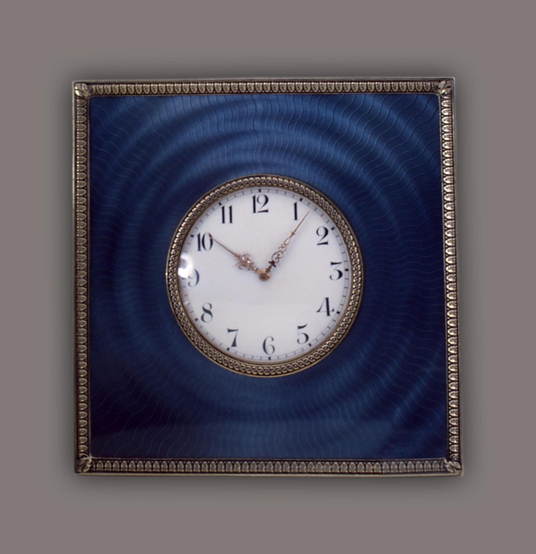 Table clock faberge pinterest russian art table clock amipublicfo Images