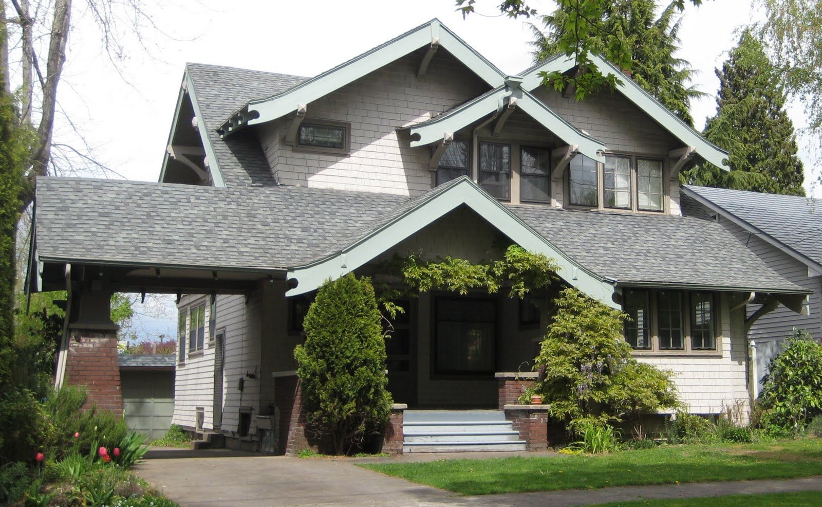 craftsman houses laurelhurst 1912 craftsman exterior before reno