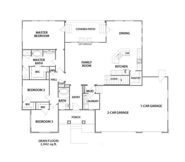 Auburn Plan Love This Floor Plan Floor Plans Ranch Floor Plans House Floor Plans