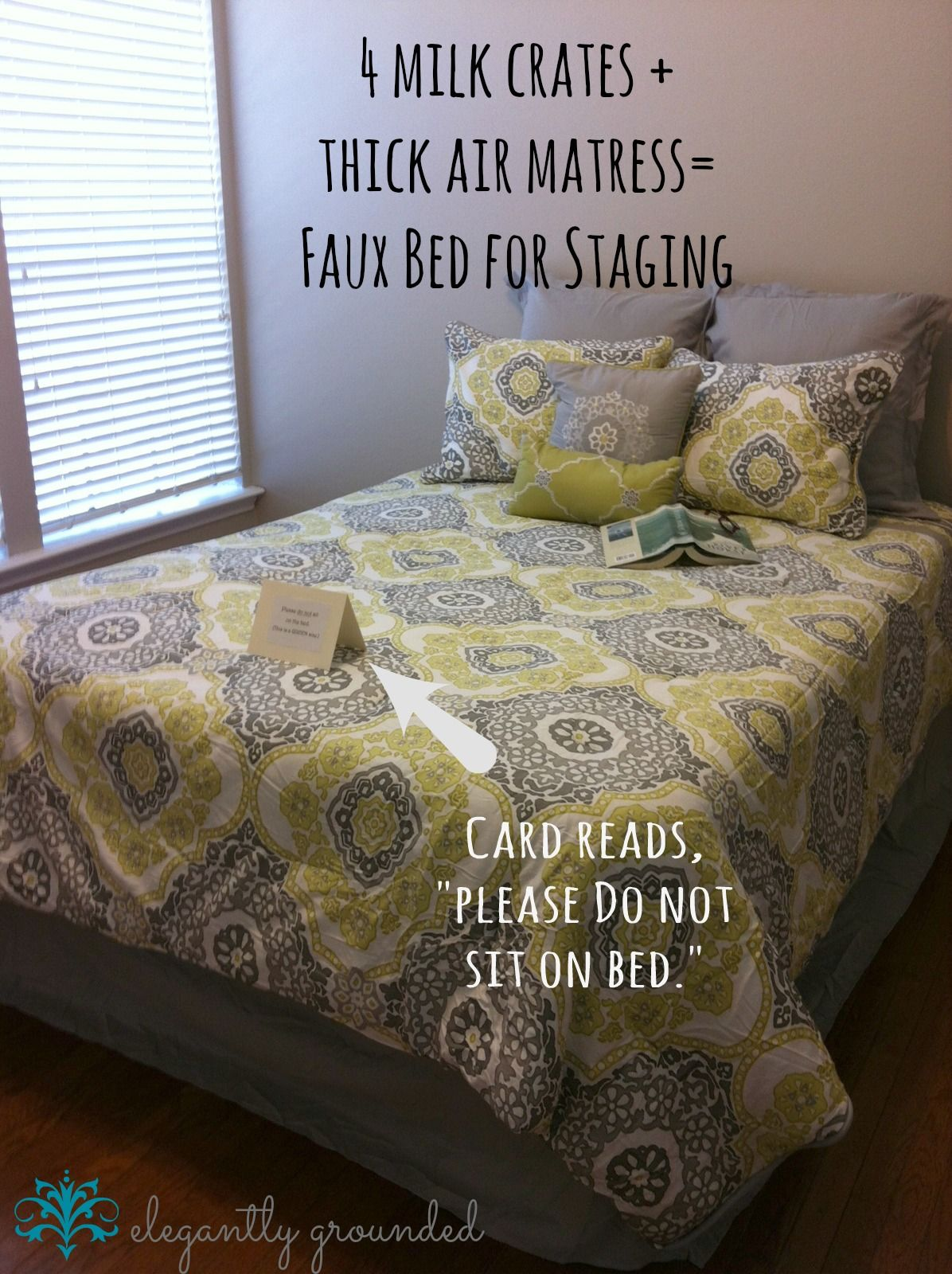 Fake A Bed For Staging Use Er