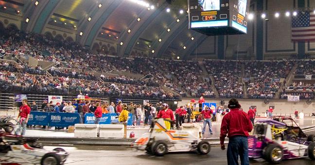 Indoor Auto Racing Returns To Atlantic City Nj Race Cars Racing Atlantic City