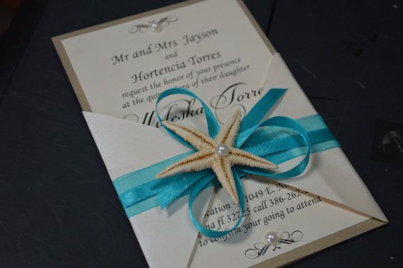 Strand Hochzeit Einladung Hochzeitseinladung Von GretaArt Auf Etsy