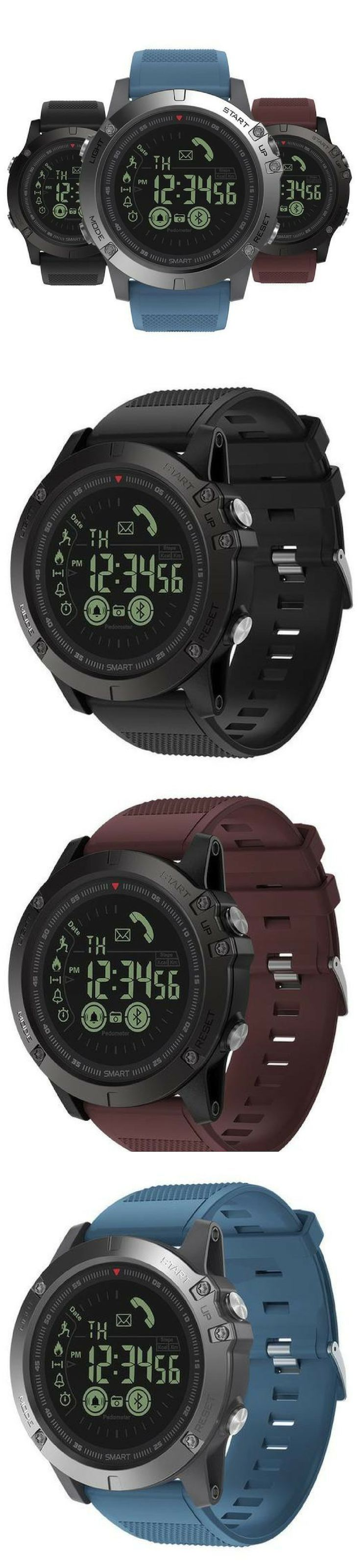 Tactical Smartwatch V3 Ios Android Compatible Made Out Of Stainless Steel This Watch Will Survive Anything Tactical Watch Camping Accessories Outdoor Watch