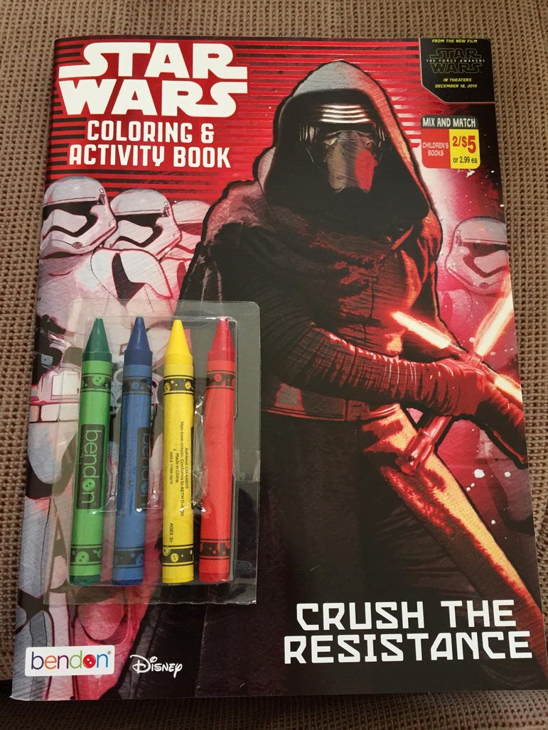 Star Wars The Force Awakens Coloring Book Reveals Two New Characters Force Awakens Star Wars Episode Vii Star Wars