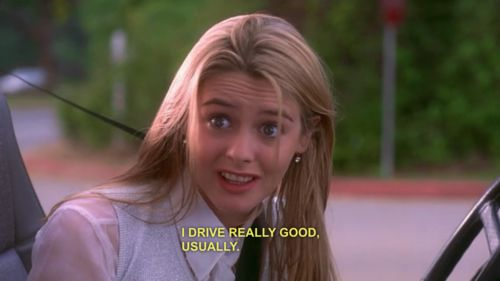I Swear Clueless Quotes Iconic Movie Characters Iconic Movies