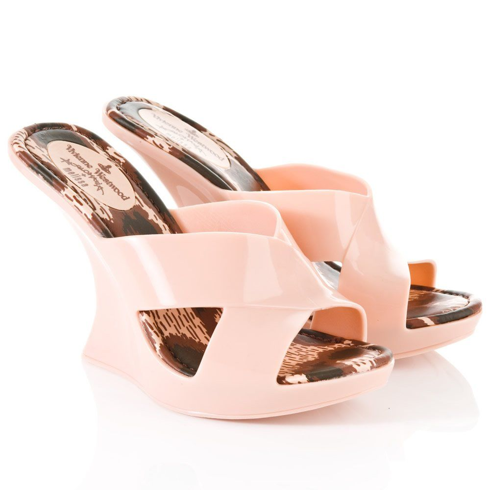 Vivienne Westwood Anglomania + Melissa Wedge (owned!)