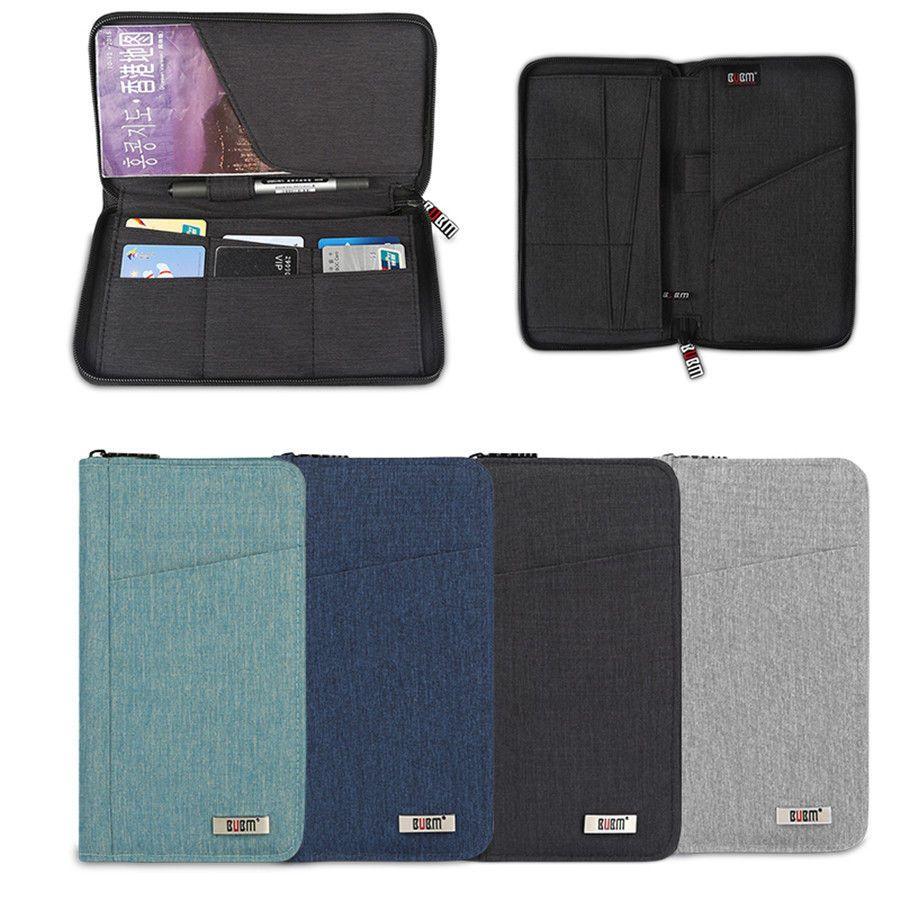 best service b3741 f87db BUBM Travel Passport Wallet Cards Pen Receiving Multifunctional ...
