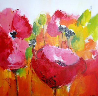 kleurrijke acrylschilderijen Anne-Marie van Stratum door anne-marie #Kunstzinnig