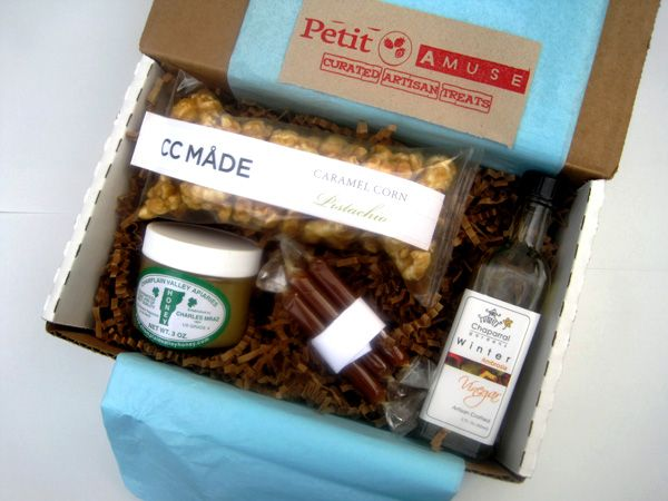 Boxes include 1-2 full size products or 3-4 samples from small - food list samples