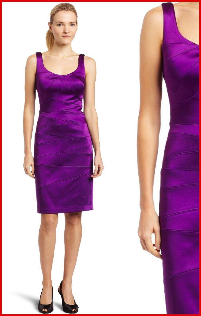 Jax Purple Satin Cocktail Dress | Products I Love | Pinterest