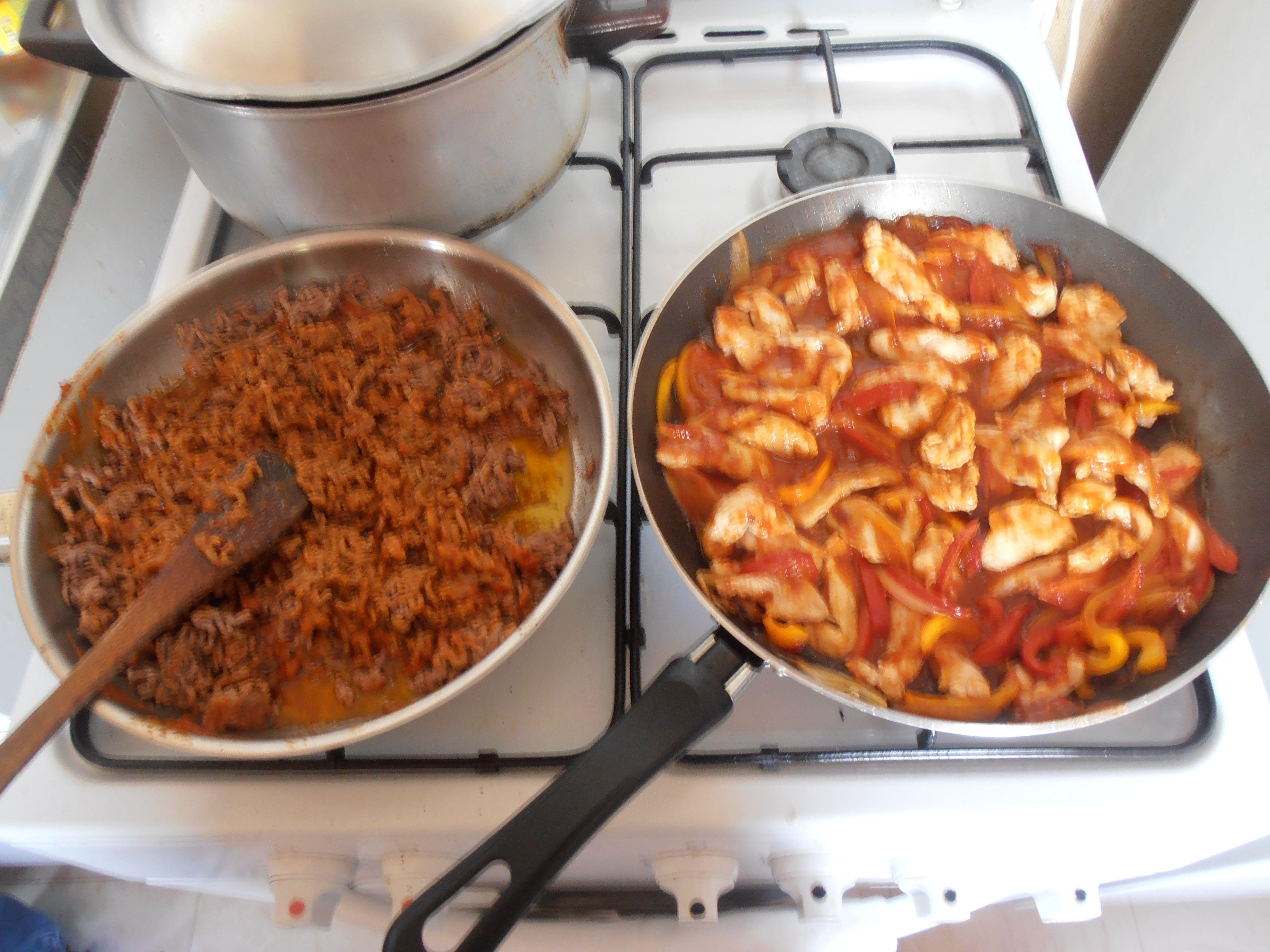 Garnitre pour tacos et fajitas en mode test #LesieurSampleo #DuoLesieur #DuoHuileBeurre