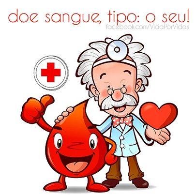 Seja um doador de sangue!