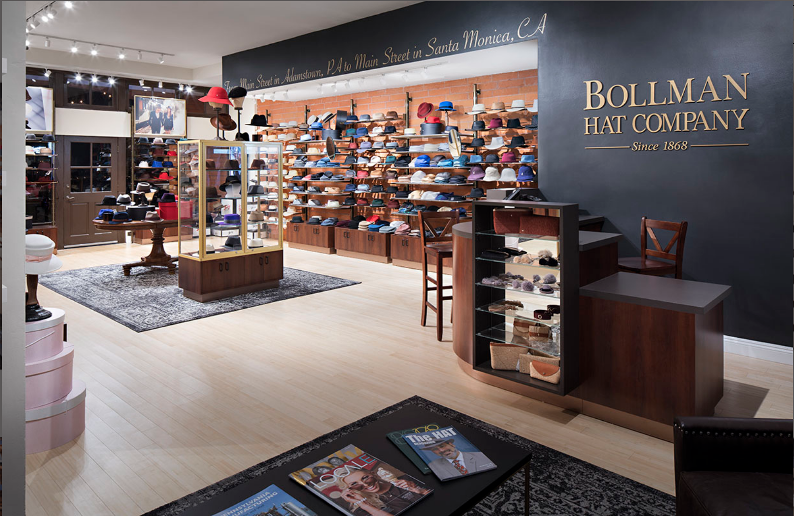 Hats Off To This Retail Display Retail Store Layout Store Layout Portfolio Design