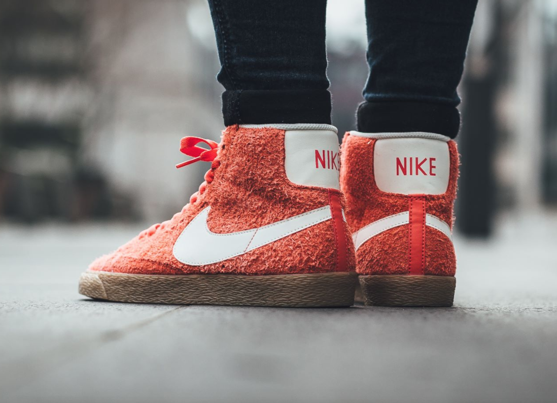 san francisco cc062 b7b09 Max Orange Covers The Nike Blazer Mid Suede Vintage