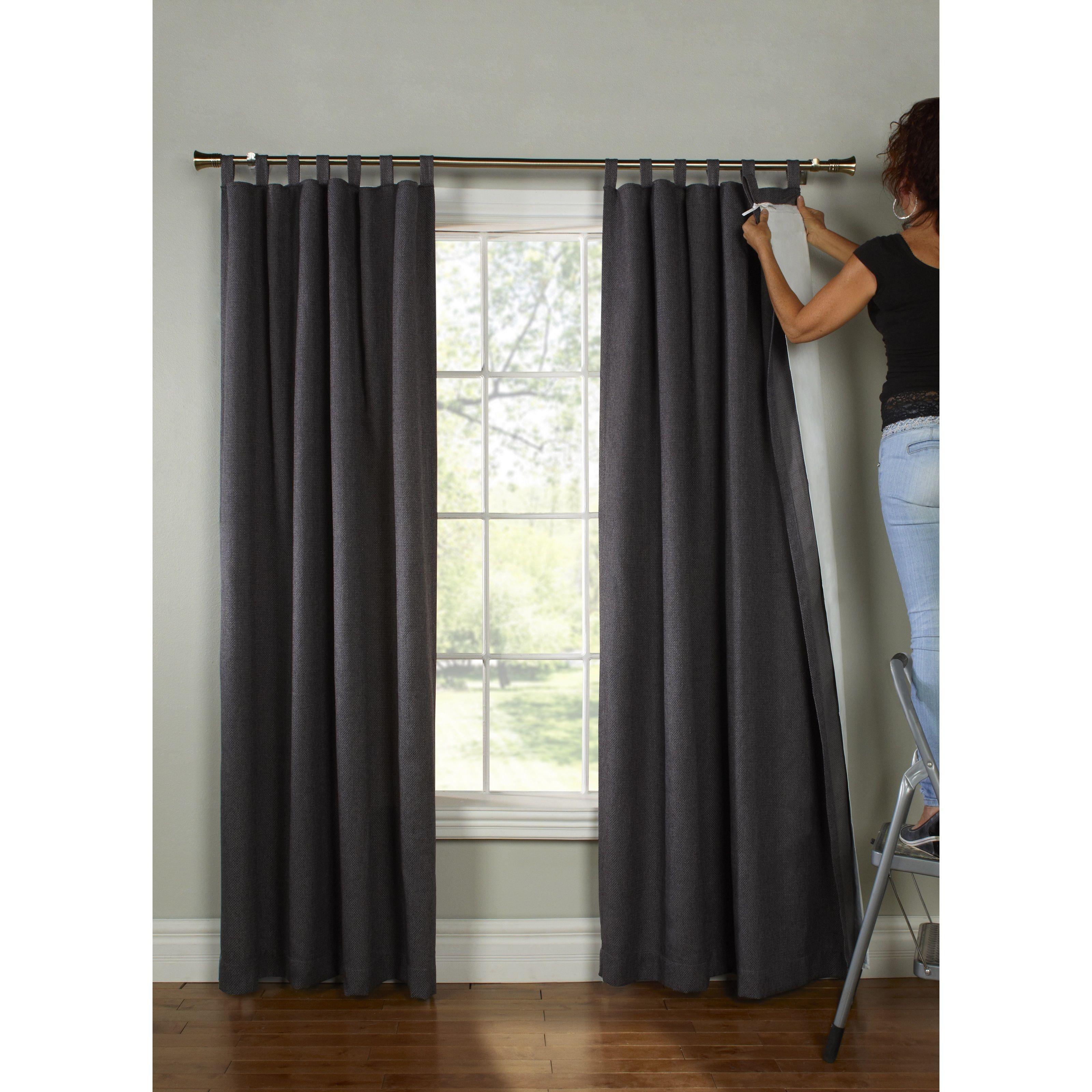 bathroom inch curtain window hookless escape reg panels bed bath curtains