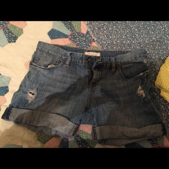 Bullhead denim shorts Size 9, no flaws Bullhead Shorts