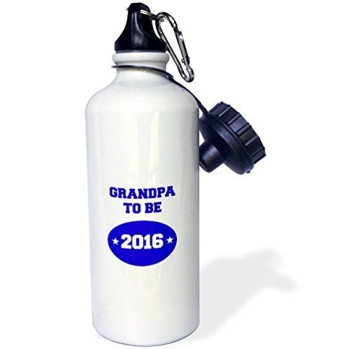 BrooklynMeme Sayings  Grandpa to be 2016  21 oz Sports Water Bottle wb_224288_1 -- Read more reviews of the product by visiting the link on the image.(This is an Amazon affiliate link and I receive a commission for the sales)