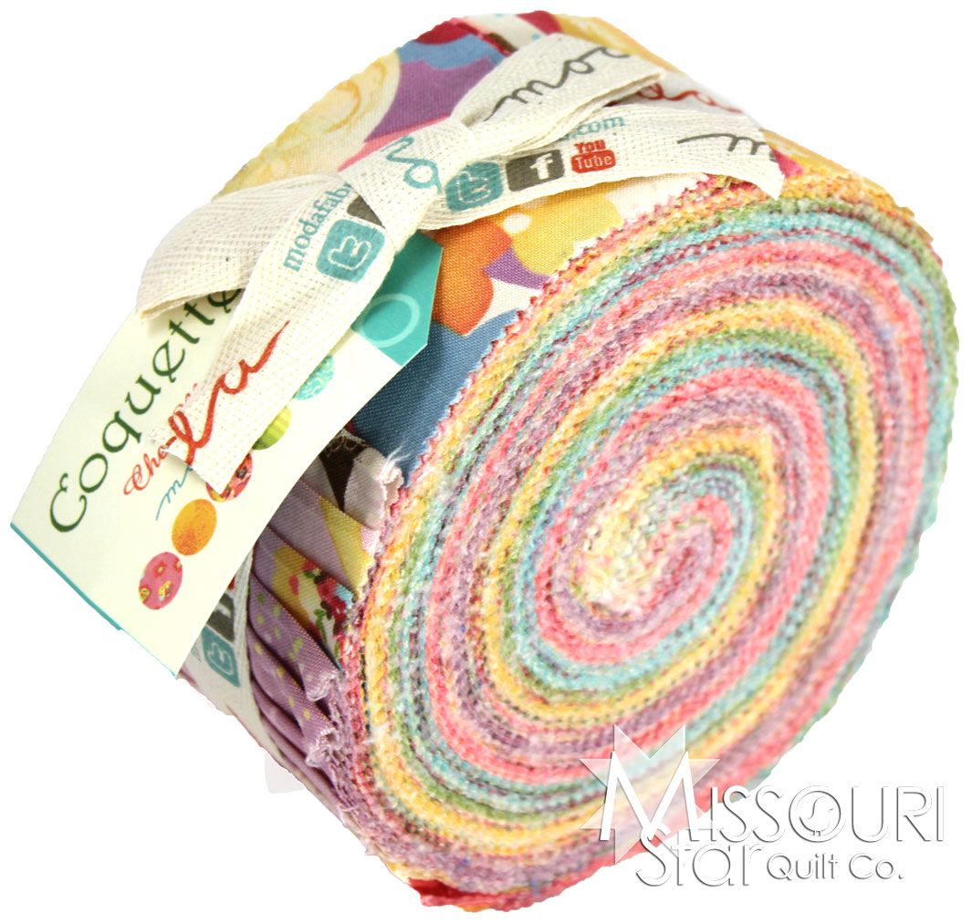 Coquette Jelly Roll from Missouri Star Quilt Co | Quilts I'd like ... : missouri quilt company daily deals - Adamdwight.com