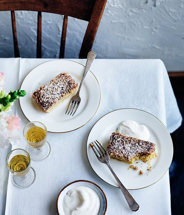 Almond And Pine Nut Tart