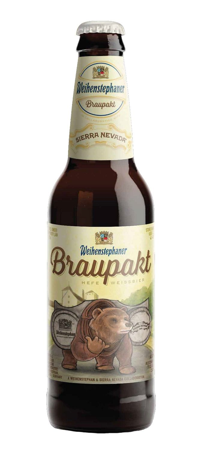 Weihenstephan / Sierra Nevada Braupakt, German Hefeweizen 6,0% ABV ...