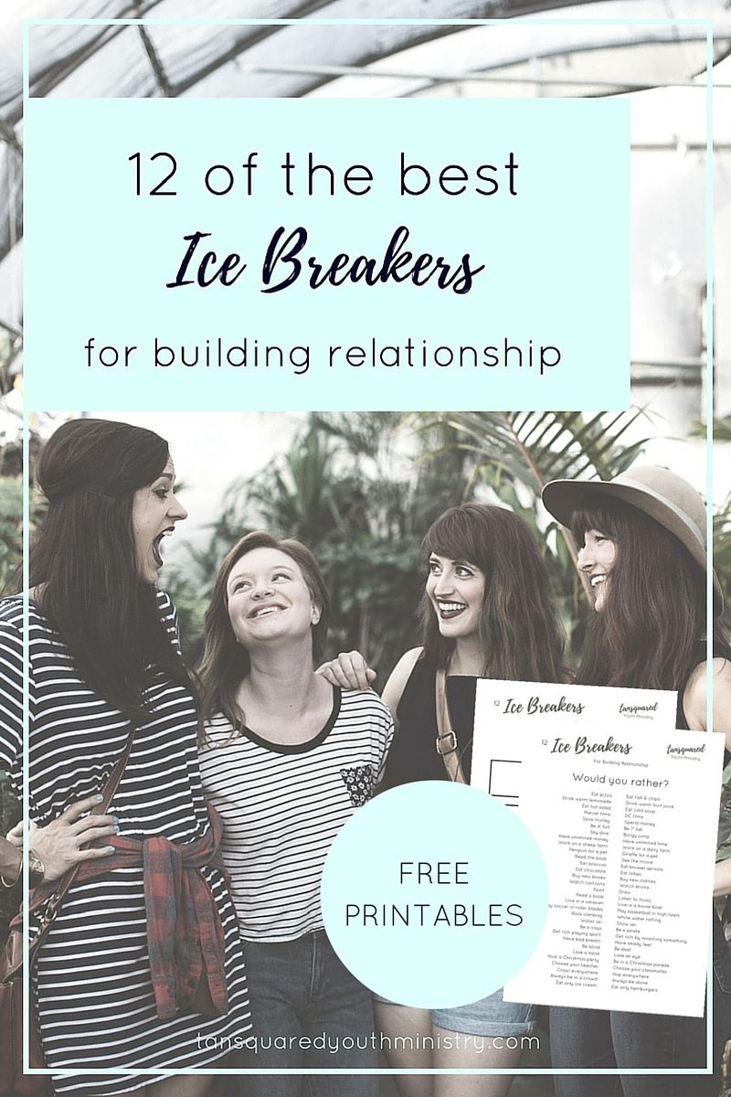 Ice breaker for online dating
