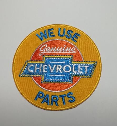 Chevrolet Service We Use Chevrole Parts Classic Usa Motoring Scroll Embroidery Iron On Patches Iron On Patches Patches Chevrolet Parts