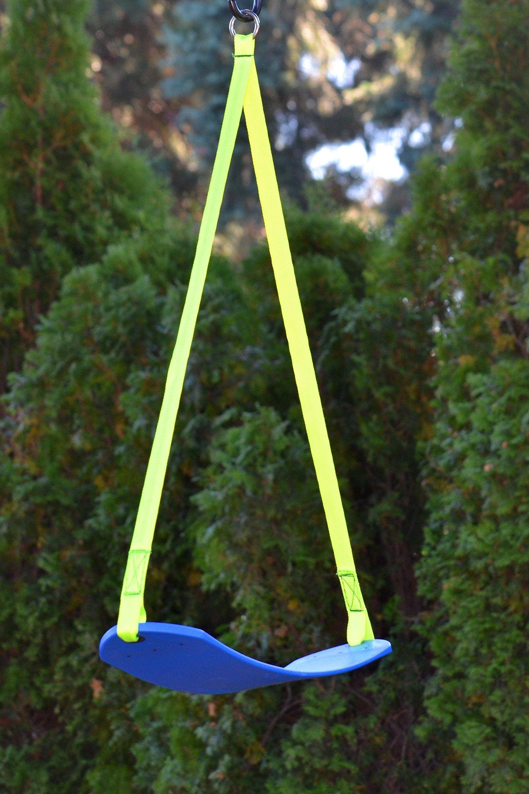 Zip Line Swing Seat | Zip line backyard, Ziplining