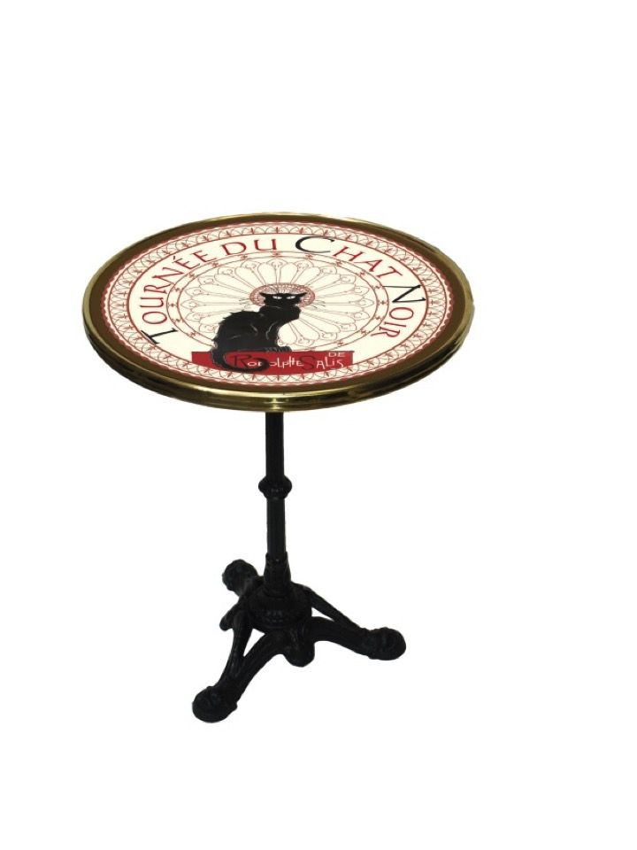 French Bistro Table Tournee Du Chat